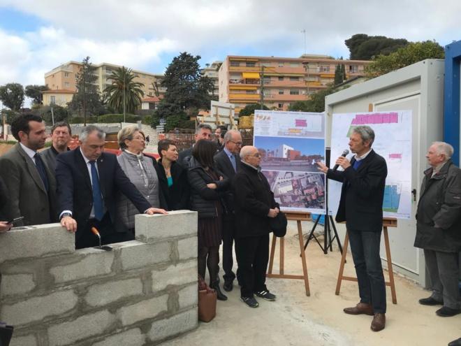 Equipement petite Enfance : pose de la première pierre du futur établissement Gabriel-Ferrer à Saint Laurent du Var