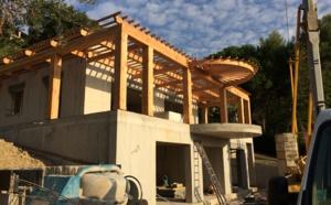 chantier Villa L. novembre 2020